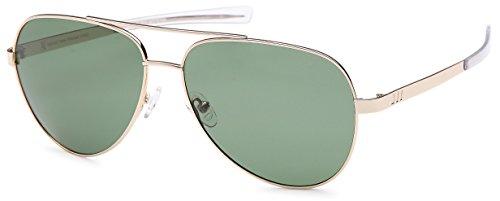 GAMMA RAY TITANLITE Tomcat Polarized UV400 Titanium Aviator Sunglasses in Nickle Free Hypoallergenic Frame