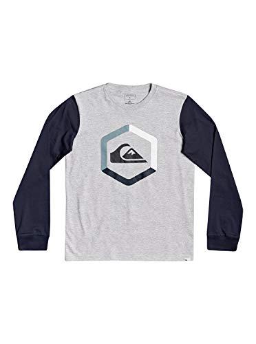 Quiksilver The Boldness - Camiseta De Manga Larga para Niños 8-16 Camiseta...