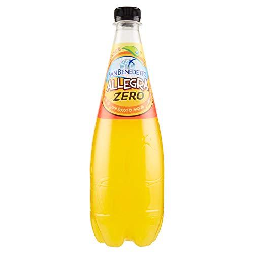 San Benedetto Bibita Analcolica Gassata al Succo d'Arancia senza Zuccheri - 750 ml