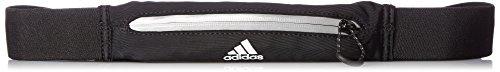 adidas Herren Run Belt Acc Gürtel, Black/Reflective Silver/White, One Size