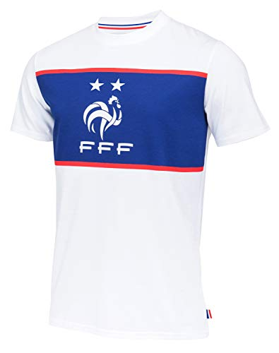 Equipe de FRANCE de football T-Shirt FFF - Collection Officielle Taille Homme XXL