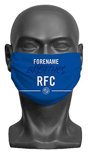 Personalised Reading FC Breathes Adult Face Mask- Large