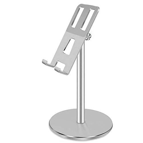 MAGFUN Soporte Tablet TeléFono de Aluminio para Tableta de TeléFono Universal Soporte de TelescóPico para /