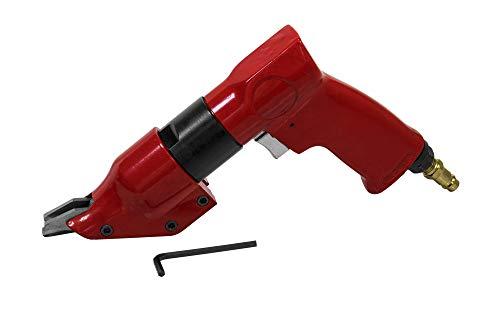 Druckluft Blechschere 2.100 U/Min, Schnittstärkenbreite: 1,1 mm, Betriebsdruck: 6 bar - Blechknabber Blechnibbler