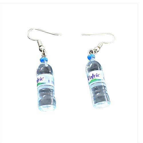 Ogquaton Frauen Böhmische Wasserflasche Anhänger Ohrringe Tropfen Kreative Einzigartige Baumeln Ohrringe Langlebig und Praktisch