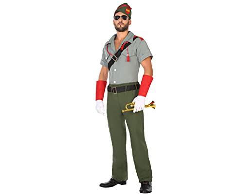 ATOSA disfraz militar legionario hombre adulto M