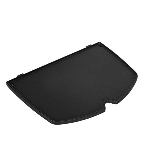 GGC Cast Iron Griddle for Weber 6558 Q100 Q120 Q1000 Q1200; Q100 Q1000 Series Grills (12.6' x 8.6'x 0.5')