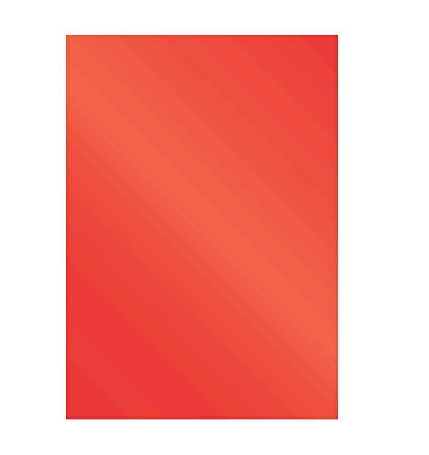 Fellowes 5378301 Präsentationsdeckblätter Chromolux (glänzend), 250g/m², rot