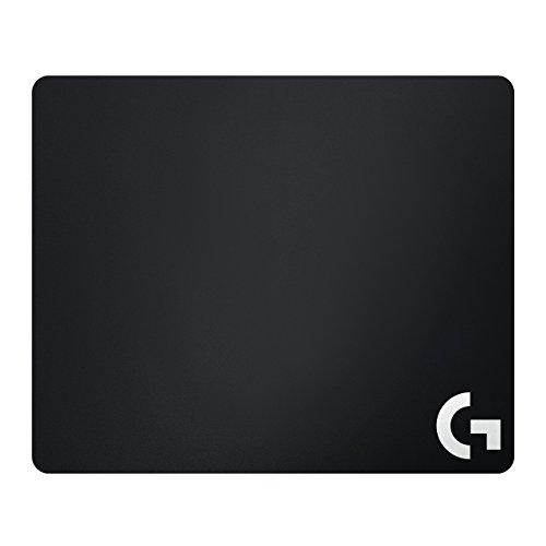 Logitech G440 Hartes Gaming Mauspad, 340x280 mm, 3mm flaches Profil, Harte Kunststoffoberfläche, Geringe Oberflächenreibung, Gleichmäßige Oberflächenstruktur, Gummiunterlage - Englische Verpackung