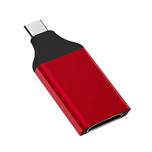 Adaptador USB-C a HDMI, AFUNTA tipo C a HDMI compatible con tableta/ordenador portátil/escritorio/teléfono inteligente