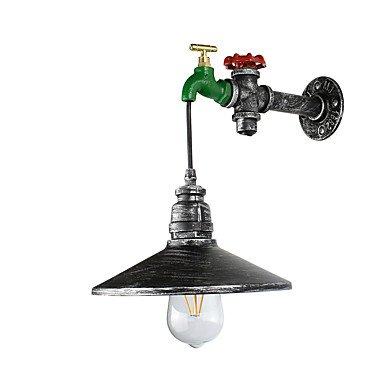 GAG-Spots muraux@LED light swall light LED mur rustique / lodge caractéristique de peinture pour ampoule includedambient applique