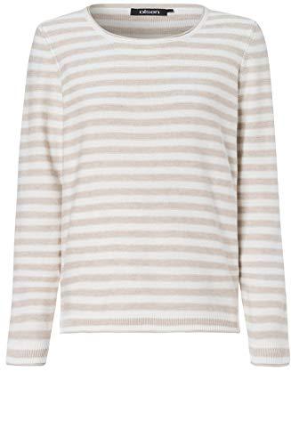Olsen Pullover Long Sleeves, Off White, Offwhite((10051)), Gr. 44