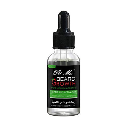 Bart Wachstum flüssiges Bartwachstums Serum, Beard Growth, Ätherisches Öl für das Bartwachstum von Männern, Schutz und Reparatur des Bartes Fördert Und Beschleunigt Ihren Bartwuchs