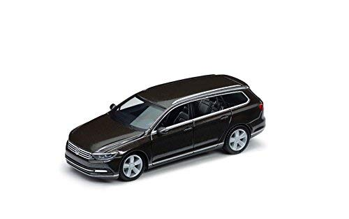 Originele Volkswagen modelauto 1:87 VW Passat Variant zwart oak bruin-metallic zwart 3G9099301 B8R