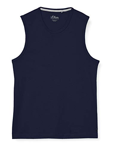 s.Oliver Herren 130.10.006.12.130.2037612 Trägershirt/Cami Shirt, 5697, XL