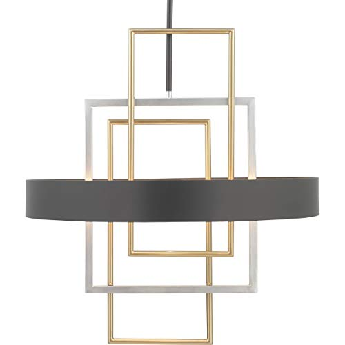 Progress Lighting P500174-031 Adagio Pendants, Black
