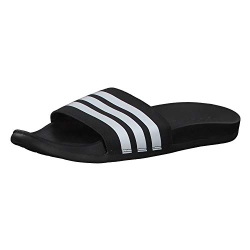 Adidas Adilette Comfort, Slide Sandal Hombre, Negro (Core Black/Footwear White/Core Black 0), 42 EU