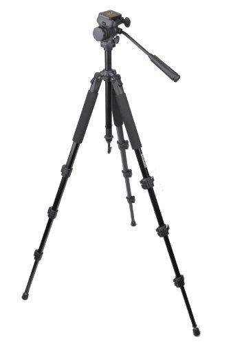 Polaroid profesional 1,62m Trípode (Serie Studio) con Ultra Suave plano de/Rótula, incluye...