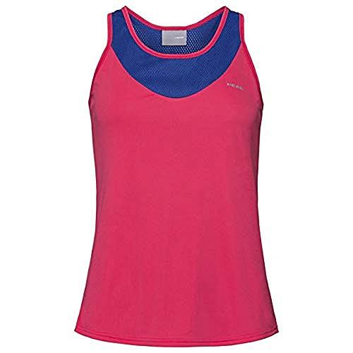 Head 814300-Maroxs Camiseta, Mujer, Azul Oscuro, XS