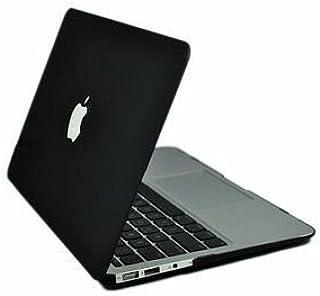 MacBook Air 13インチ用ハードケース(ブラック) 往年のMacBookブラックモデルを彷彿とさせる専用カバー (黒・マット仕上げ)