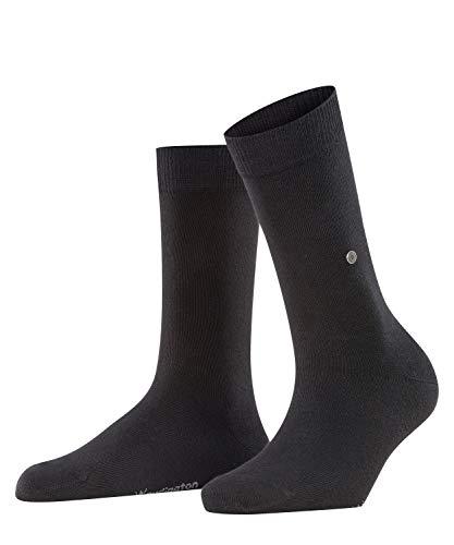 Burlington Damen Lady W SO Socken, 1er Pack, Schwarz (Black 3000, 36-41