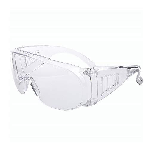 ANYLINE 保護めがね ウイルス細菌飛沫対策眼鏡 軽量 歯科保護アイゴーグル安全メガネ 歯科用 医療用 曇り止め 防塵 簡単装着 透明