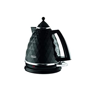 De'Longhi Active Line Kettle, anti-scale filter, 1.7 Liters, 360° swivel base, KBJ3001W, White