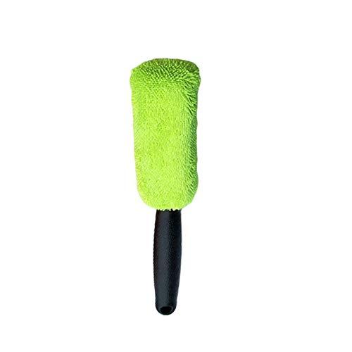 OOE Limpieza del coche de la rueda de la herramienta del cepillo de neumáticos Lavado Limpiar los neumáticos de la esponja suave limpiador de neumáticos Lamer friega el cepillo de lavado limpieza del