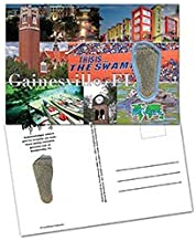 product image for Gainesville, FL FootWhere Souvenir Postcard. Made in USA