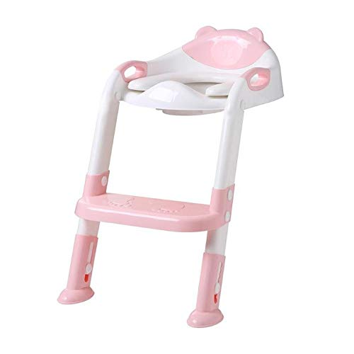 Best Quality - Potties - folding convenience child potty toilet trainer seat step stool ladder adjustable training chair echelle pot siege toilette - by Melissa - 1 PCs