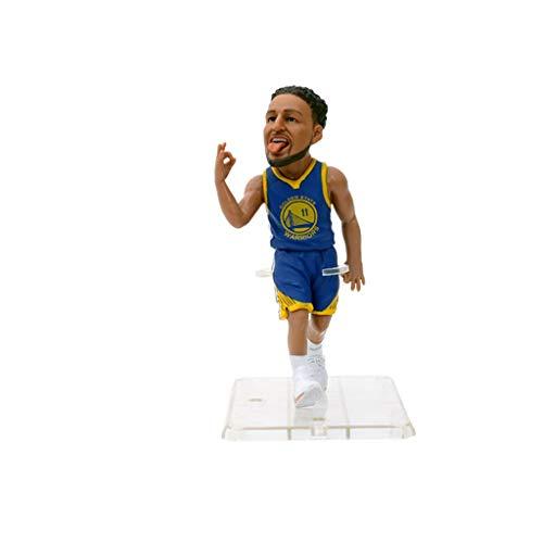 YP Py NBA Klay Thompson Actionfigur Warriors Jersey Cartoon-Dekorationen Basketball Sport Ornament