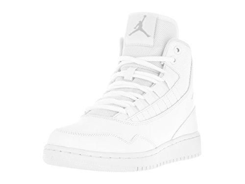 Nike Jungen Jordan Executive Bg Fitnessschuhe, Weiß (White/Cool Grey/White 100), 35.5 EU