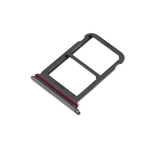 5 unids/Lote Parte de la Ranura de la Bandeja de la Tarjeta SIM Dual para Huawei P20 Pro Piezas de Repuesto del Adaptador de la Ranura del Soporte de la Bandeja de la Tarjeta SIM