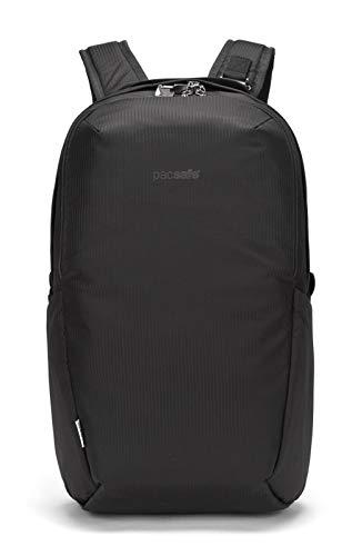 Pacsafe Vibe 25 Schwarz, Notebook-Rucksack, Größe 25l - Farbe Econyl Black