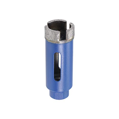 sourcing map 25mm Sintered Diamond Core Drill Bits Hole Saws for Brick Concrete Block Masonry Marble Dry or Wet Use