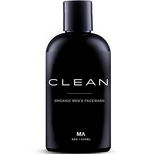 Minamul Mens Face Wash - Exfoliating Organic Foaming Scrub | Daily Deep Facial Cleanser for Acne | Safe for Oily, Dry, Combo or Sensitive Skin Types | Light Scent | Anti-Agin
