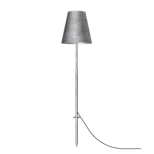 LICHT-TREND Aussen-Stehlampe, inklusiv Erdspieß, 165 x 35 cm, verzinkt 1021001
