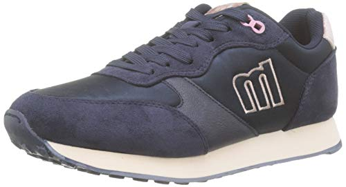MTNG Attitude 69697, Zapatillas para Mujer, Azul (Soft/Satin Marino C47535), 38 EU