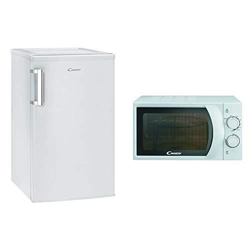 CANDY CCTOS 504WH Frigorifero A++, 97 Litri, 40 dB(A), Bianco & CMG 2071 M Microonde con grill 20L, 45,2 x 26,2 x 33,5 cm, 700W, Potenza Grill: 900W, Bianco