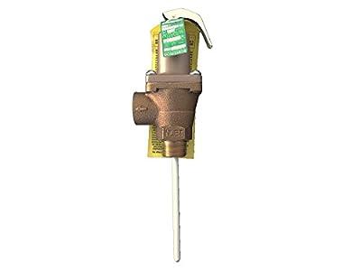 "Watts Regulator Temperature and Pressure Relief Valve 40XL-5, 3/4"" (0156731) by Watts"