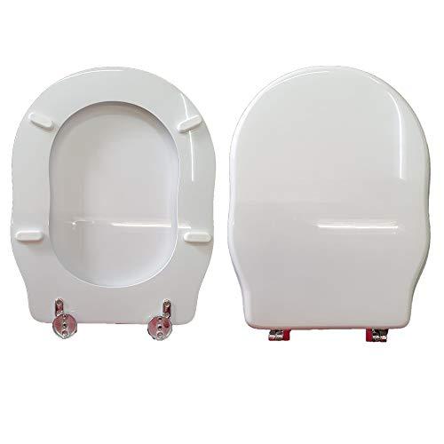 Copriwater WINDSOR CIELO compatibile laccato bianco lucido poliestere