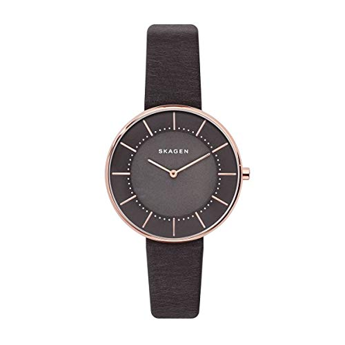 Skagen - Reloj de pulsera analógico para mujer (cuarzo, talla única), color...