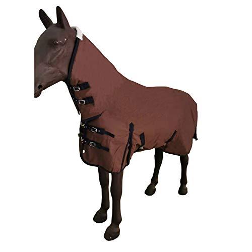 Pet Supplies Winterpferdedecke, verstellbare, verdickte Weste mit Hals, wasserdichte, Winddichte und warme Pferdedecke