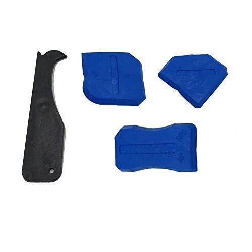 4 Stück Silikon Caulking Werkzeug Kit Silikon Dichtstoff Dichtungen für Dichtungsmasse Silikon Dichtungsanschluss
