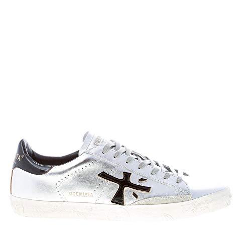 PREMIATA Luxury Fashion Uomo STEVEN4713 Argento Sneakers | Primavera Estate 20