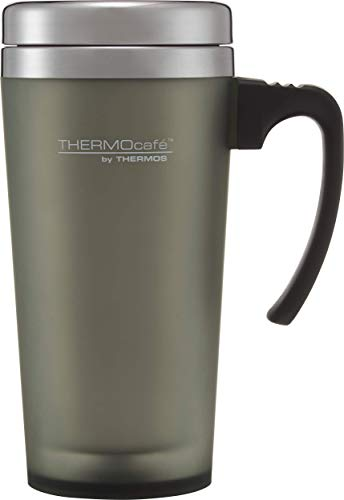 Thermos Thermocafe Soft Touch Travel Mug - 420 ml (Moss Green)