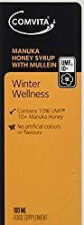 Comvita Winter Wellness Manuka Honey Syrup with Mullein Extract - 100ml Certified UMF 10+ & MGO 263+. Contains plant phenols found in the Nectar of the New Zealand Manuka Bush. A natural all-in-one herbal formula elixir to support winter wellness. A ...