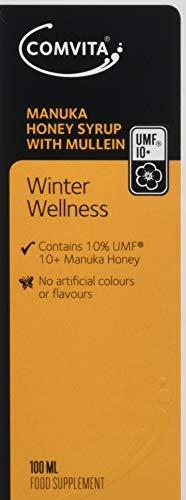 Comvita Winter Wellness Manuka Honey Syrup with Mullein Extract (UMF 10+, MGO 263+) - 100ml