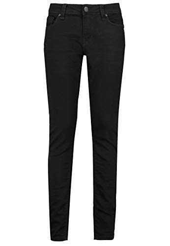 Eight2Nine Damen Jeans Hose Slim Fit & 5-Pocket Schnitt Black M