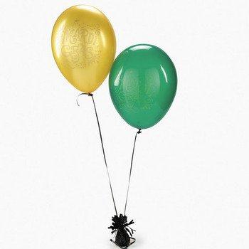 "Fun Express Mardi Gras Balloons (24 Pieces) 11"" Party Decorations, Fat Tuesday, Parade Supplies"